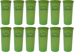 Tupperware 12 oz Tumblers - With Love Print 340 ml Bottle
