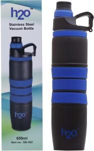 H2O Vaccum 650 ml Water Bottle