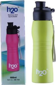 H2O STAINLESS STEEL WATER BOTTLE 600 ml Water Bottle