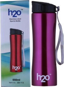 H2O Sports Bottle 550 ml Water Bottle