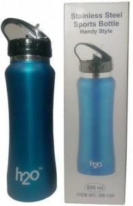 H2O Mat Dark Pink 650 ml Water Bottle