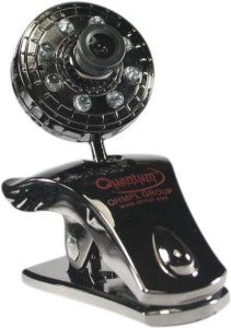 Quantum Quantum QHM500 LM WebCam (8 Lights/30 Megapixel)  Webcam