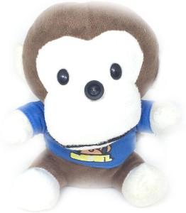 Shrih Plush Monkey In Blue Tshirt USB 2.0 10M HD  Webcam