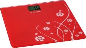 9481020498 Venus Digital Glass Weighing Scale ( Red )