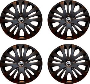 Hotwheelz Sporty Matte Black Wheel Cover For Hyundai Getz