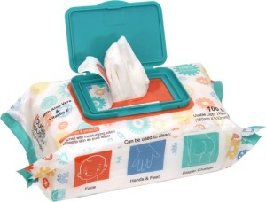 Buddsbuddy Baby SkincareWet Wipes - 100pcs pack