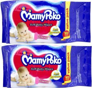 Mamy Poko Soft Baby Wipes