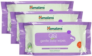 Himalaya Gentle Baby Wipes Pack Of 3 -72 Pcs