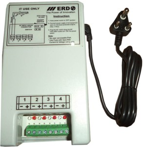 ERD 4 Channel Security Camera SMPS Power Supply Worldwide Adaptor ...