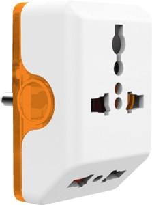Norwood Angular 3 pin Multiplug Worldwide Adaptor