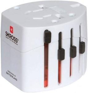 Its Our Studio World Travel Adapter 2 White Worldwide Adaptor