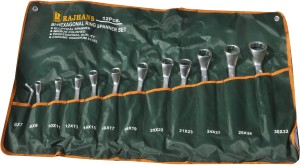 Rajhans 102B Double Sided Box End Wrench Set