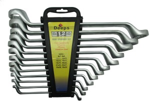 DEEPS 131/12 Double Sided Box End Wrench Set
