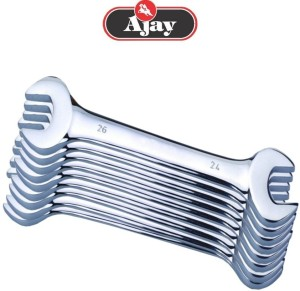 Ajay A100-9W Double Sided Open End Wrench Set
