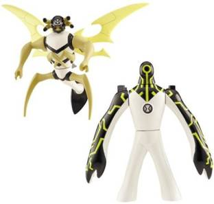 Ben 10 fusion kickin hawk with accessory fusion kickin hawk with ben 10 ten alien creation chamber mini 2pack upgrade and stinkfly altavistaventures Image collections