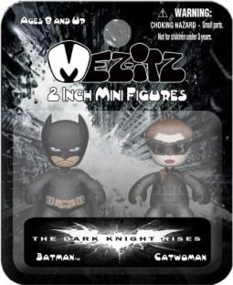 Mini Mez-Itz Series 2 Batman Beyond /& Cyborg 2-Inch Vinyl Figure 2-Pack