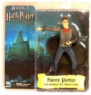"""Harry Potter and the Order of the Phoenix NECA 7/"""" Series 2 Action Figure Harry w"""