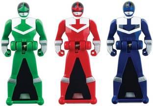 8a0dcb000ada Power Rangers Power Rangers Super Megaforce - Time Force Legendary Ranger  Red / Blue / Green