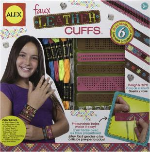 Alex toys ultimate hair accessories salon ultimate hair alex toys do it yourself wear faux leather cuffs kit solutioingenieria Image collections