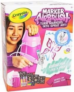 Bd Crayola Air Marker Sprayer Marker Art Tool Turn Markers