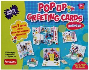 FUNSKOOL Pop Up Greeting Cards
