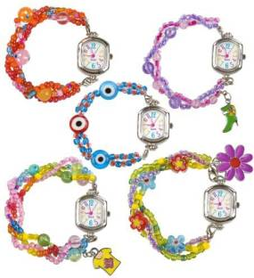 Loomey time rainbow color watch for loom kit bracelet black alex toys do it yourself wear time 2 change watch solutioingenieria Choice Image