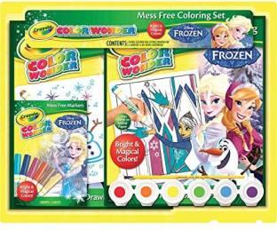 Crayola Frozen Color Wonder Activity Gift Set