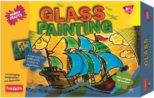 FUNSKOOL Glass Painting