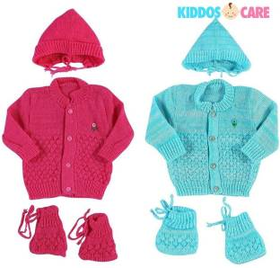 1d003c7df4e KiddosCare Woollen Knitted Baby Sweater