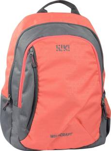Wiki By Wildcraft Bricks 3 Pink 22 L Backpack