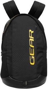 d33c742569 Gear OUTLANDER 3 Backpack 36 L Backpack Black - Red - Price in India ...