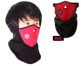 Psylane Red Bike Face Mask for Boys & Girls