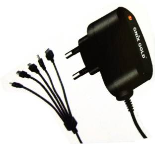 86917b9579ed85 Creator Double IC Protection 5 in 1 Travel Charger Mobile Charger