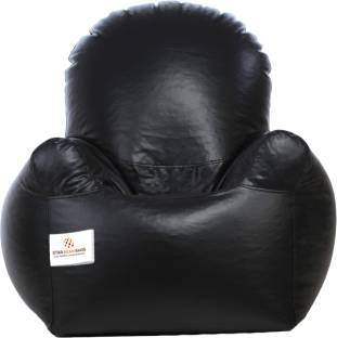 Star XXXL Emperor Arm Chair Bean Bag With Filling