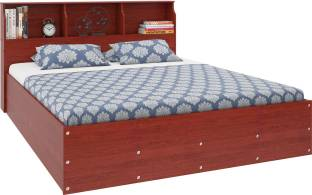Housefull Engineered Wood Queen Bed With Storage