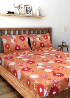Bombay Dyeing Bedsheets. Bombay Dyeing Cotton Floral Double Bedsheet