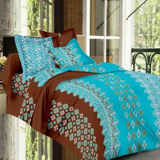 Always Plus Cotton Printed Double Bedsheet