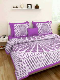 Cotton Bedsheet Czar Cotton Printed Double Bedsheet