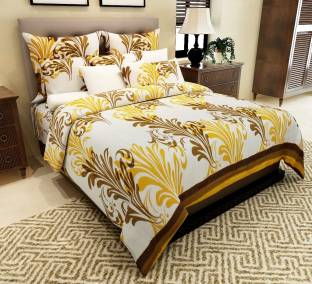 Home Candy Cotton Paisley Double Bedsheet