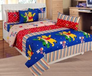 Beau ATOZ Home Decor Cotton Double Cartoon Bedsheet