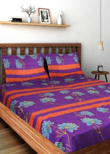 Bombay Dyeing Cotton Printed Double Bedsheet