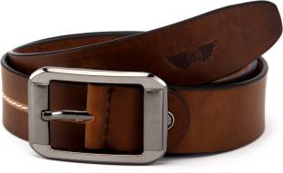 best designer belts hakv  Royster Callus Men Casual Brown Genuine Leather Belt