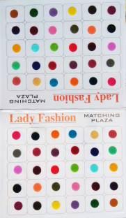 Lady FASHION Matching Plaza 2510201602 Forehead Multicolor Bindis