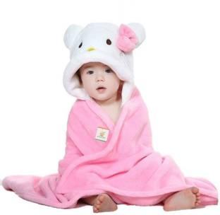 Ole Baby Polka Single Blanket Pink