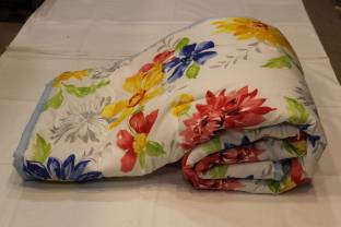 Blankets World Floral Single Quilts & Comforters Multicolor