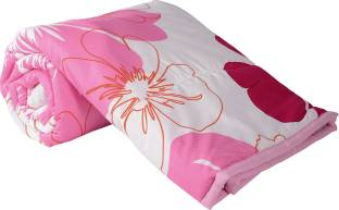 Clasiko Floral Single Quilts & Comforters Multicolor