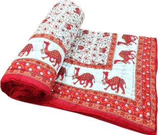 Shop Rajasthan Animal Single Quilts & Comforters Multicolor