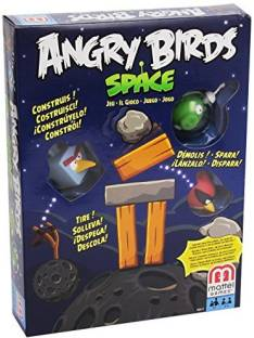 Turban Toys Angry Bird Happy Holidays Board Game Angry Bird Happy