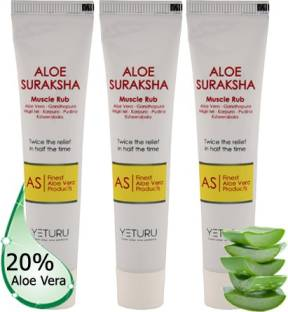 YETURU'S Aloe Suraksha Muscle Rub