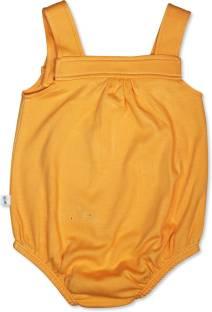 FS Mini Klub Baby Girls Orange Bodysuit